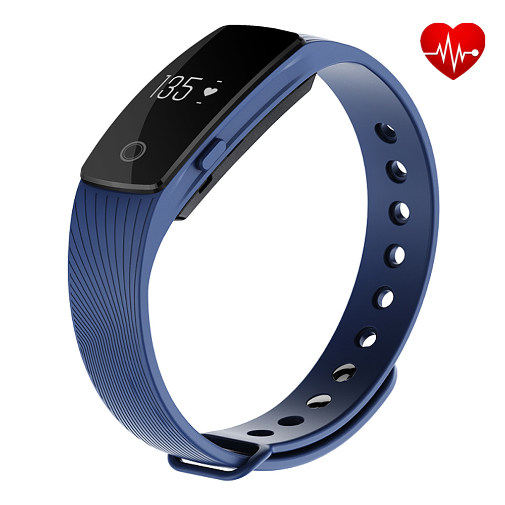 2016 newest hot sale Bluetooth Smart Bracelet smart band Heart Rate Monitor Wristband Fitness Tracker for