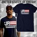 JR Smith camiseta mujer hombre hombres mujeres s jersey JR para el Presidente de manga corta camiseta