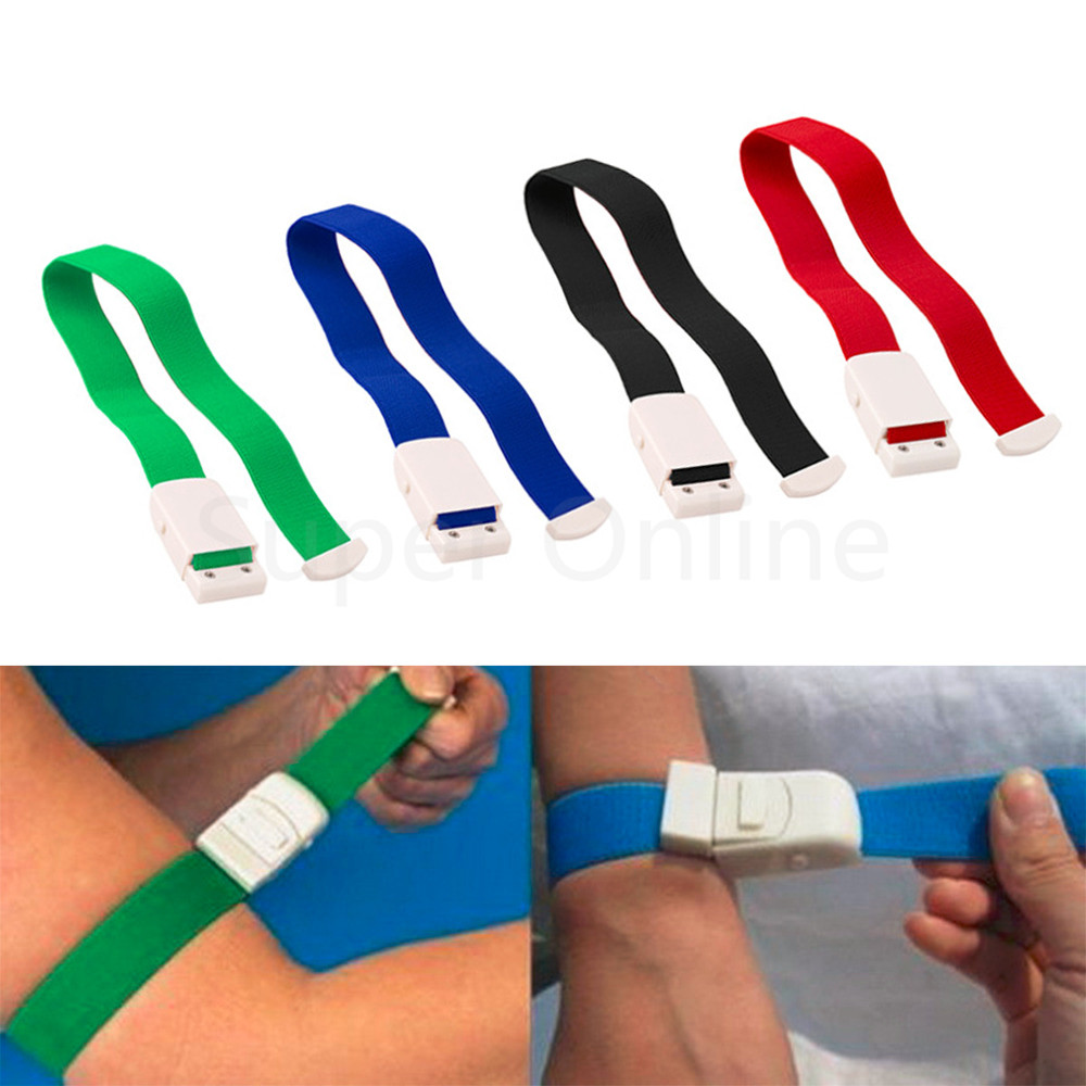 1pc Camping Hiking Travel Quick Slow Release Medical Paramedic Sport Hemostasis Bandage Emergency Tourniquet Buckle Kits