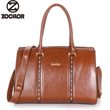 Fashion Women Bag Luxury Messenger Bags Female Designer Leather Handbags High Quality Famous Brands  Ladies rivet shoulder bag