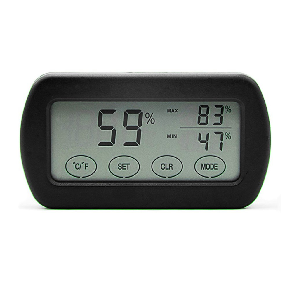 1pcs Small LCD Touch Digtal Display Egg Incubator Thermometer Hygrometer Meter Measurement of Humidity Temperature Alert Machine