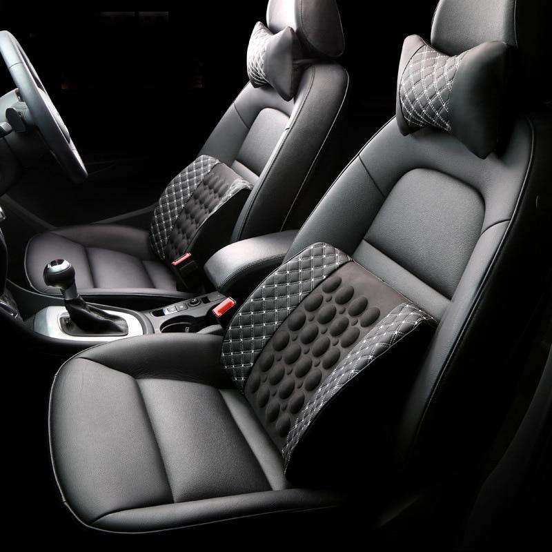 Cojín lumbar eléctrico de masaje para oficina de doble propósito, - Accesorios de interior de coche - foto 3