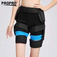 Outdoor Sports Snowboarding Skating Shorts Hip Protective Bottom Padded For Hockey Ski Roller Skate Road Bike MTB Hip Protection
