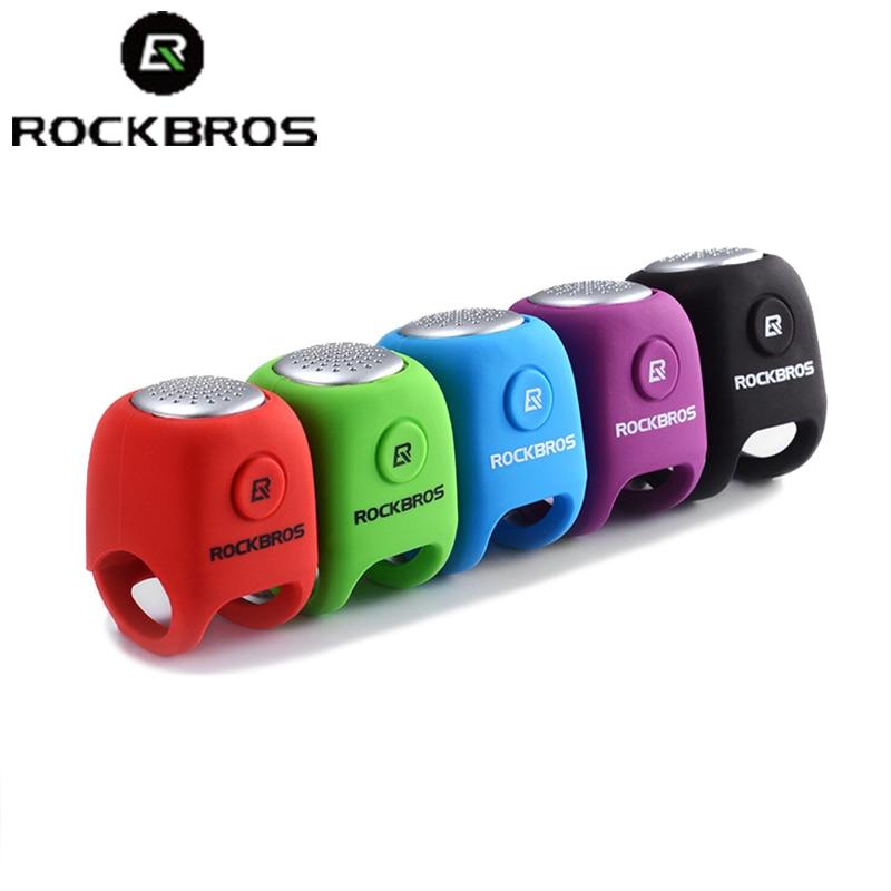 Cycling Bike Electric Bell Rainproof Bells MTB Road Bicycle Handlebar Silica Gel Bell Super Loud Safety Bicycle Alarm RK0043 (11)