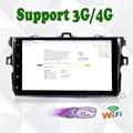 "9 ""Quad Core 1024*600 Android 6.0 ПК Автомобиля Tablet Для Corolla 2007 ~ 2011 Gps-навигация BT Радио Стерео Аудио Плеер Нет DVD"