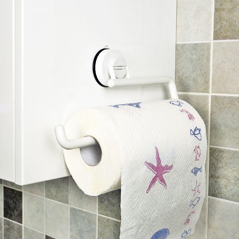 Uchwyt ścienny KitchenTowel Wieszak na papier toaletowy Uchwyt na - Artykuły gospodarstwa domowego - Zdjęcie 3