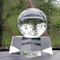 H&D 150mm HOT Top quality Rare Natural Quartz Crystal Sphere Clear Magic Ball with crystal base Chakra Healing Gemstone
