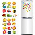 12 шт набор милые магниты на холодильник для малышей и детей постарше деревянные мультфильм Животные ЭКО Детские развивающие игрушки магнит...