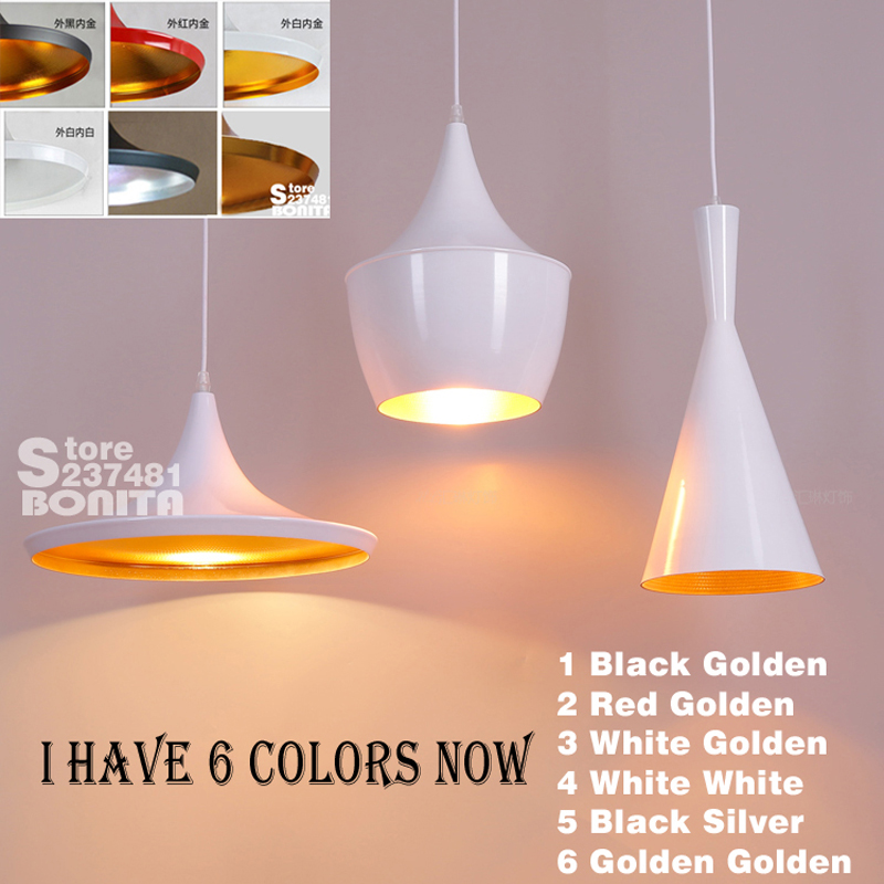Black New ABC(Tall,Fat and Wide) Design by tom dixon copper shade musical pendant lamp Beat Light