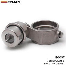 EPMAN -NEW Boost Activated Exhaust Cutout / Dump 76MM CLOSED Style Pressure: about 1 BAR For BMW e90 EP-CUT76-CL-BOOST