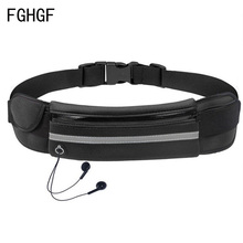 Waterproof Outdoor Waist Bag Sports Jogging Portable Cycling Phone Holder Belt Gym Lady Women Men Fitness