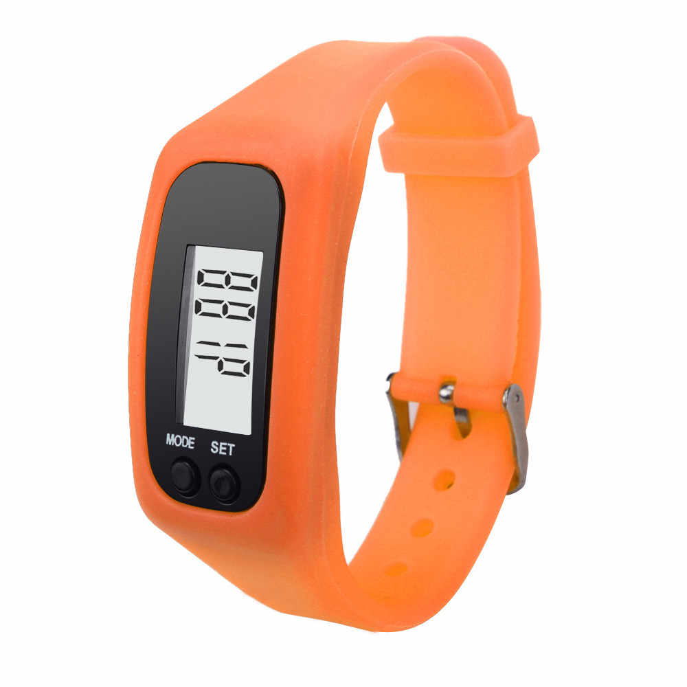 0260bc0a902 ... Digital LCD Pedometer Women s Watch Run Step Calorie Counter Women  Bracelet Watch Watches Women Watch Men ...