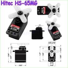 1pcs 100% Original Hitec HS-65MG HS 65mg Micro Servo Futaba JR Trex 450 V2
