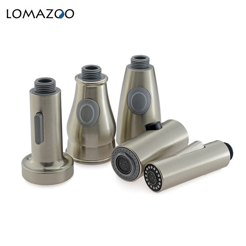 Kitchen Tap Pull Out Part Kitchen Faucet Faucet Spouts Kitchen Faucet Nozzle Shower Head Attachment On The Tap Nickel Brushed