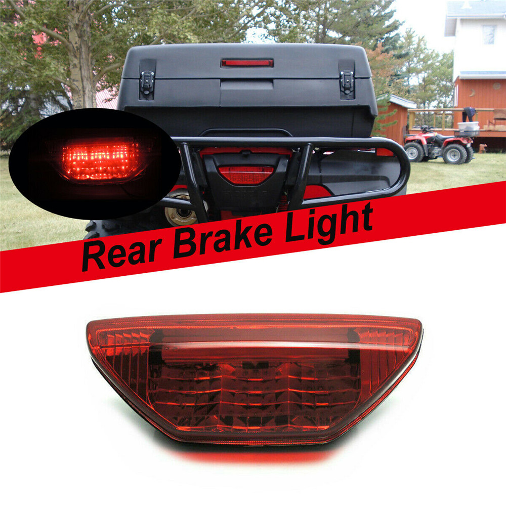 Red Tail Light Taillight For Honda TRX420 TRX500 Rancher Foreman TRX 400EX  RUBICON TRX250 2006-2014 2015