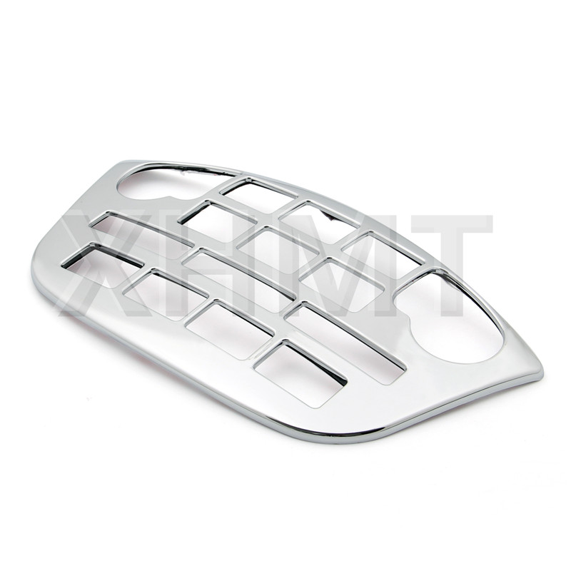 Motorcycle Decoration Goldwing Chrome Fairing Control Accent Fit Honda Goldwing GL1800 GL 1800 2001-2011 2008 2007 2008 2009