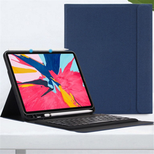 Keyboard Case for iPad Pro 11 inch 2018 A1979,Magnetic Flip Cover W Pencil Holder Smart stand Case For iPad Pro 11 inch Keyboard цены онлайн