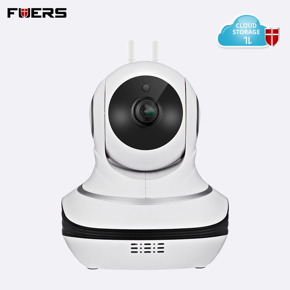Fuers 1080P HD WiFi Camera Wireless Surveillance Camera with Cloud Storage Night Camera Monitoring with Study
