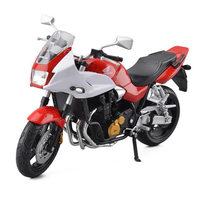 Escala 1:12 diecast cb1300sb y abs de aleación de juguete modelo de la motocicleta motor en miniatura de coches y bicicletas para niños kids toys colección juguetes