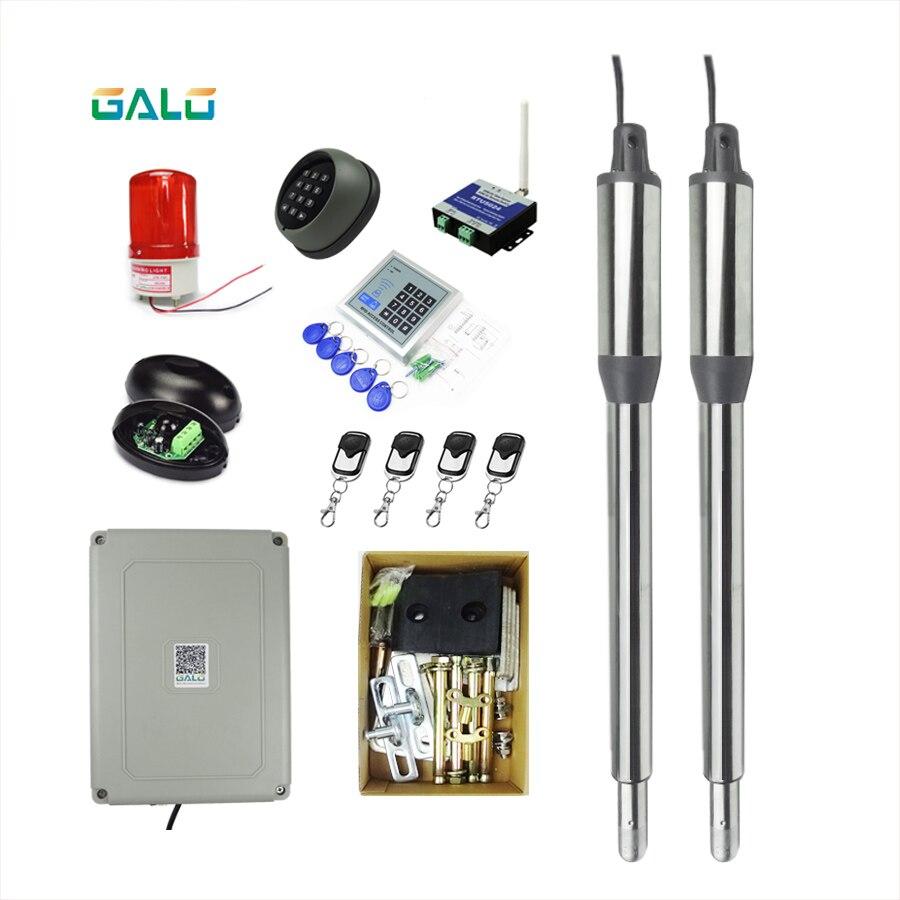 GALO swing porte moteur kit Séparés sur les deux côtés maison ferme portes utilisez Actionneur D'automatisation swing ouvreur de porte