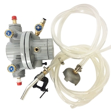 single diaphragm pump BML-5 single way aluminum alloy pneumatic diaphragm pump 10l min flux for printing ink oil chemical liquid bml 5