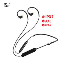 TRN Wireless Bluetooth Earphone accessories Cable  V4.2 APT-X Upgraded Wire IPX7 Waterproof 0.75/0.78/MMCX For V20 V60 V80