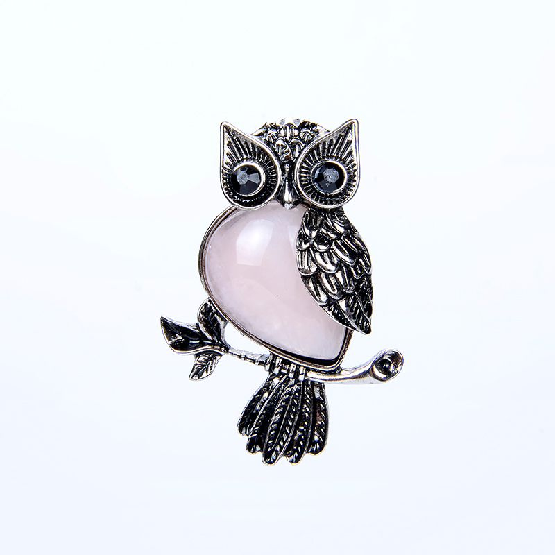 Owl Necklace Pendant Charms