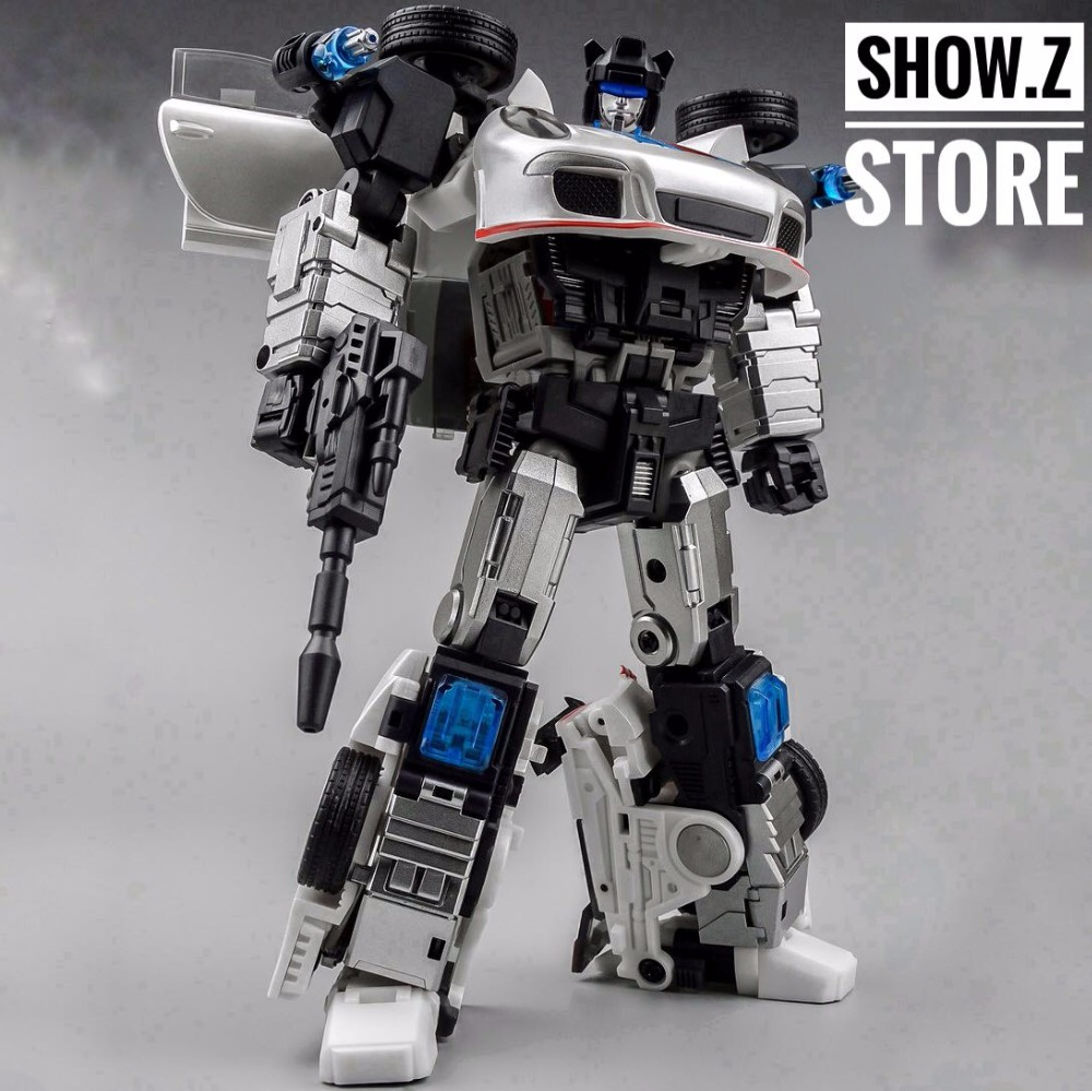[Show.Z Store] Generation Toy GT-04 Jazz J4zz Action Figure Transformation managing the store