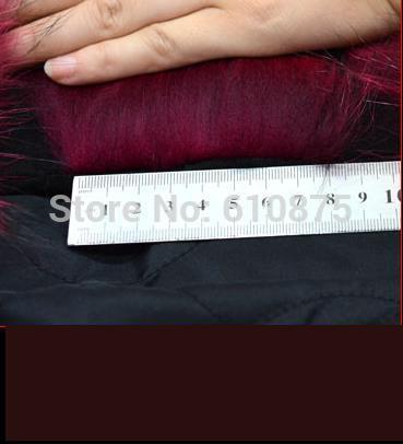 Gilet Femme Automne Hiver dark De cou Blue black Long Épaississement Khaki Renard red Chaud Laveur Raton Survêtement Fourrure O pp8rd