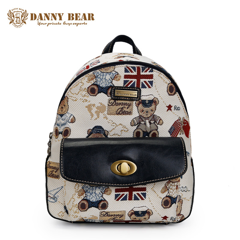 DANNY BEAR Fashion Japanese Female Backpack Vintage Cheap School Backpacks For Teenage Girls Women Causal Travel Back Pack Bags рюкзак danny bear db14859 3