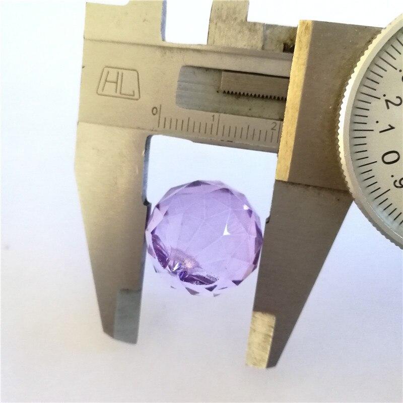 20 мм 260 шт/партия светло-сиреневого цвета хрустальная люстра шар для украшения дома занавес двери/люстра/Свадебная вечеринка даже