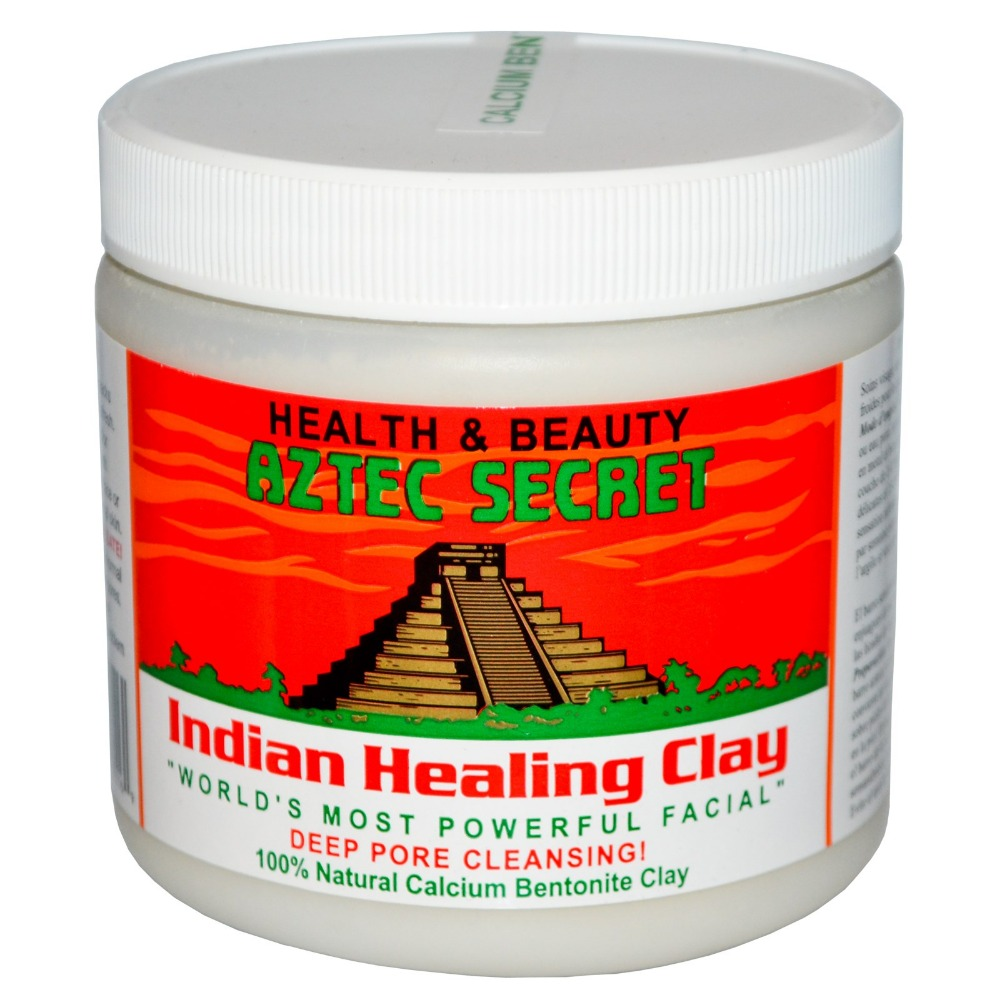 American AZTEC Aztec Indian Treatment Clay - 1 Pounds / Natural God Clay Mask To Clean Pores / 454g