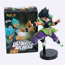23CM Dragon Ball Z Super Ultimate Soldiers The Movie Broly Figurine PVC Action Figure Collectible Model Toys Doll Free Shipping cd sweet action the ultimate story