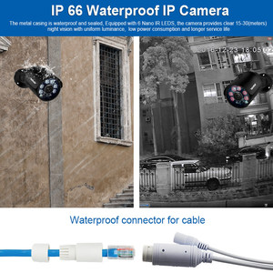 Image 4 - Smar Plug and Play H.265 5MP IP Security Camera System 8CH 4CH 5MP POE NVR Kit With 5MP Outdoor Camera Video Surveillance System