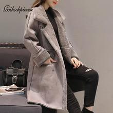 Outwear Pocket Long Fur