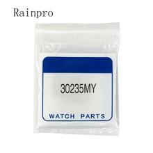 Rainpro baterías recargables de energía solar electrónica, relojes de energía óptica cinética, 30235MY = 30235MZ 3023 5MY, 1 unids/lote