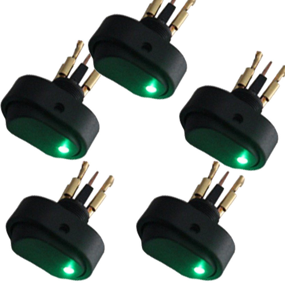 Ee Support 5 Pcs 12v 30a Heavy Duty Colors Led Off On Toggle Switch Wiring A With Universal Car Accessories Motor Rocker Xy01 In Switches Relays From
