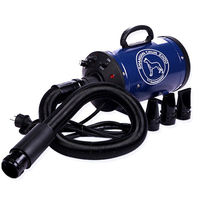 EMS Free !Pet Blowing Machine Mute High Power Hair Dryer Professional Big Dogs Cats Blow Drier Dedicated BS 2400 220/110V