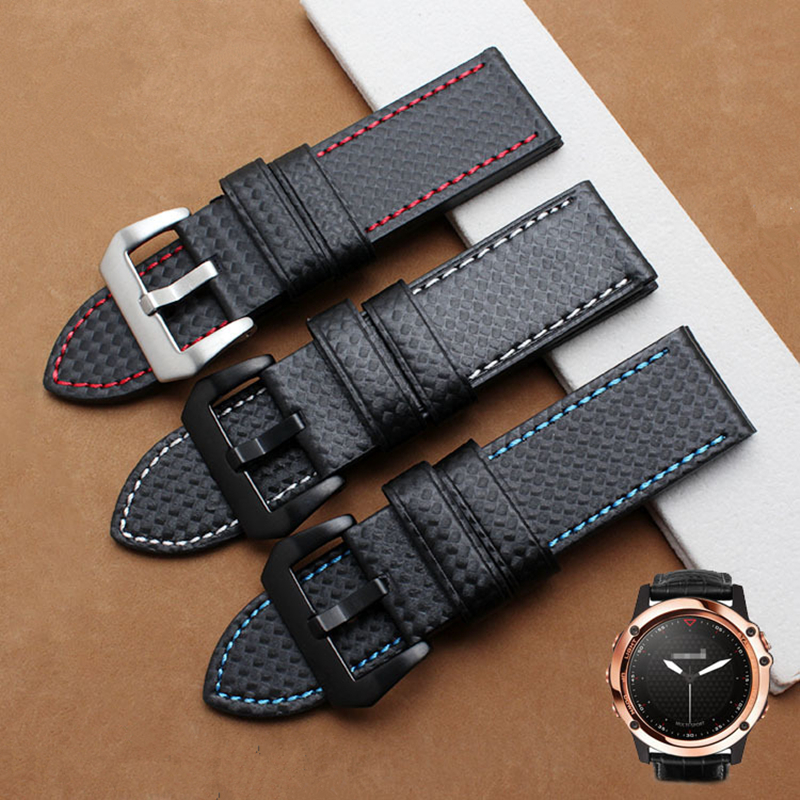 TJP NEW 22MM Black Carbon Fibre Outdoor Watch Band Strap for Samsung Gear S3 Classic / Frontier wristband смарт часы samsung gear s2 black