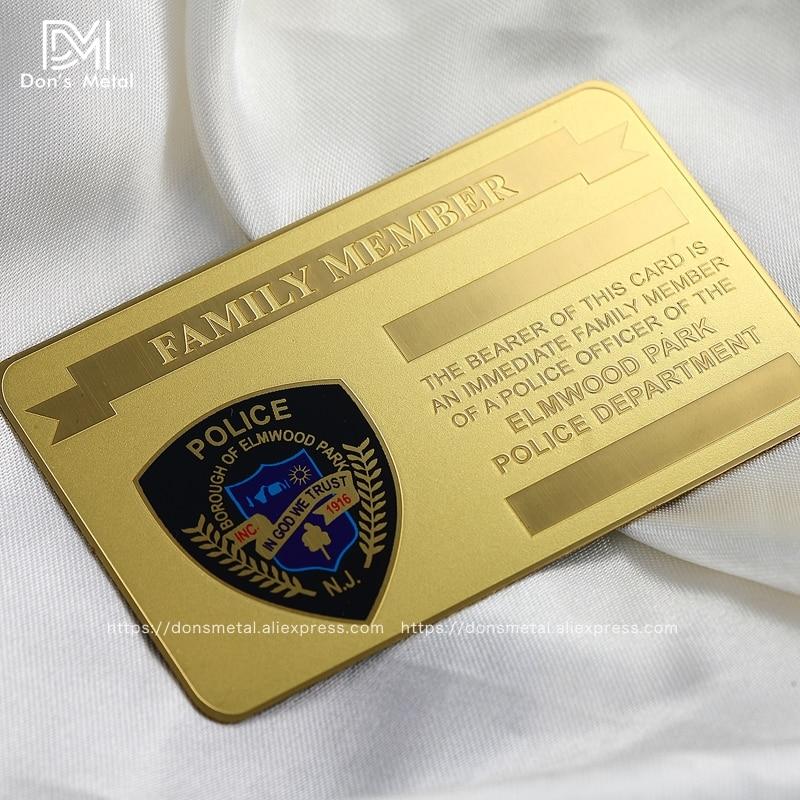 Electroplated Mirror Metal Membership Card Mirror Stainless Steel Card Personalizing Mirror Metal Card