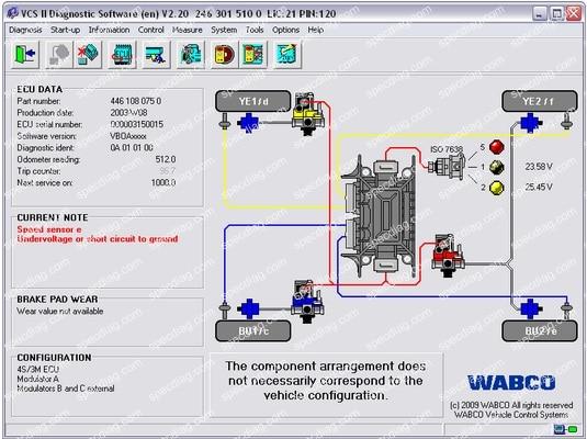 Диагностического программного обеспечения [2015]+пин-код калькулятор+ активатор для wabco