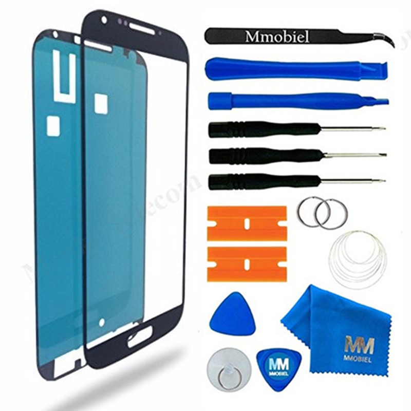 MMOBIEL For Samsung Galaxy S4 I9500 I9505 Front Glass Touch Panel Screen Digitizer Display Repair Tools  12 Pieces