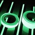 20 MM * 3 M Cinta autoadhesiva Brillan En La Oscuridad Luminosa Etapa Decoraciones Para El Hogar Seguridad