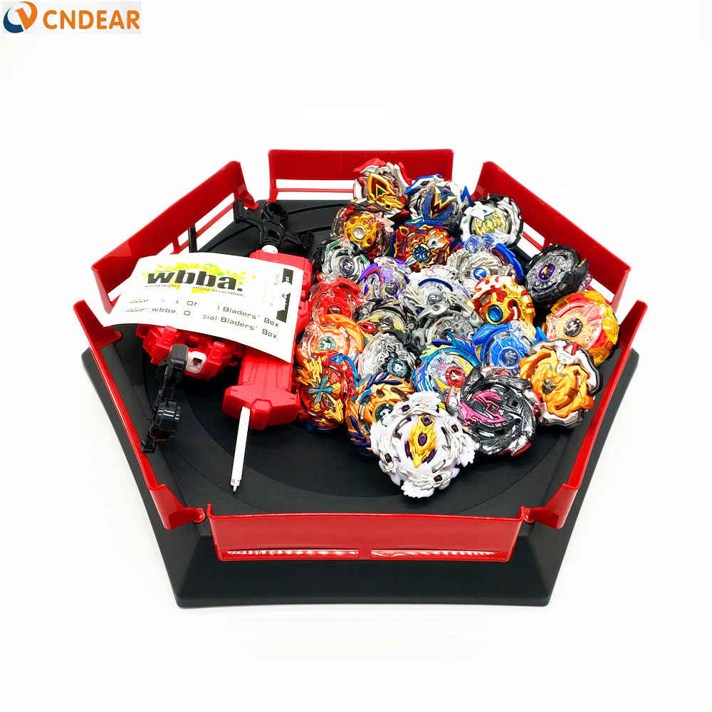 Transporte da gota beyblade explosão brinquedos com lançador de partida e arena bayblade fusão metal deus girando topos bey lâmina lâminas brinquedos