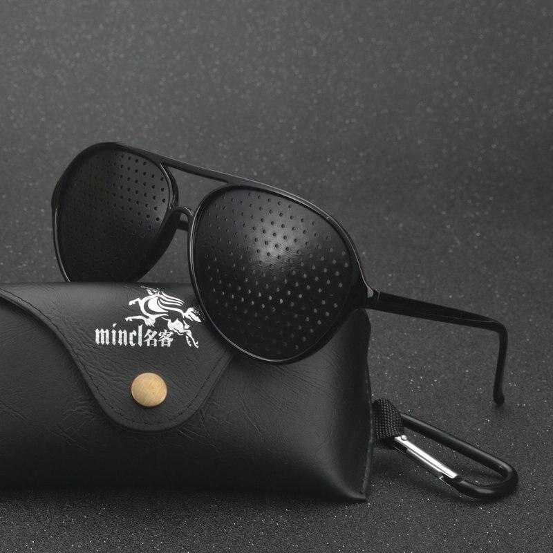 d980746923b9 2019 Men Women Vision Care Pin hole Sunglasses Anti-myopia Pinhole Glasses  Eye Exercise Eyesight