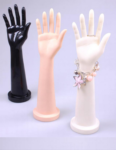 Attractive Female <font><b>Mannequin</b></font> <font><b>Hand</b></font> For Display Gloves <font><b>Ring</b></font> <font><b>Bracelet</b></font> Display <font><b>Free</b></font> Shipping image