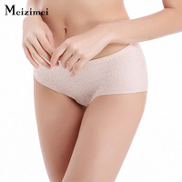 Wholesale Elegant Nobility Women Seamless Sexy Panties Briefs Female Comfortable Lingerie Cute Low Waist Luxury Underwear