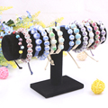 2014 Free Shipping New Black Bracelet holder single tier bracelet holder necklace holder rack flower headband jewelry display