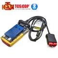 Color oro 2014.3 ds 150 Bluetooth tcs cdp cdp coches/camiones herramienta de diagnóstico cdp 2015.3 garantía de un año Gratis gratis