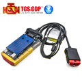 Gold color 2014.3 ds cdp 150 Bluetooth tcs cdp cars / trucks diagnostic tool cdp 2015.3 one year warranty Free Shipping